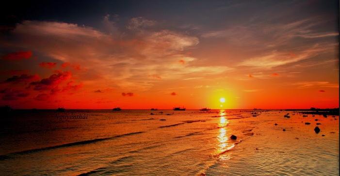 Hoàng hôn trên đảo Phú Quý