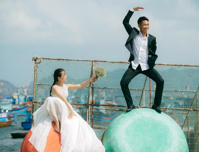 Bình Ba bình dị trong một bộ ảnh cưới