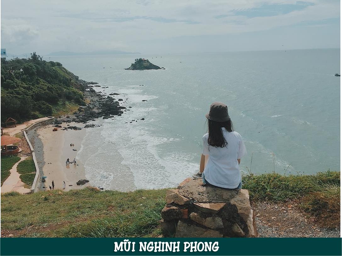 Mũi Nghinh Phong nằm ở Địa chỉ: 1 Hạ Long, Phường 2, Tp. Vũng Tàu, Bà Rịa - Vũng Tàu