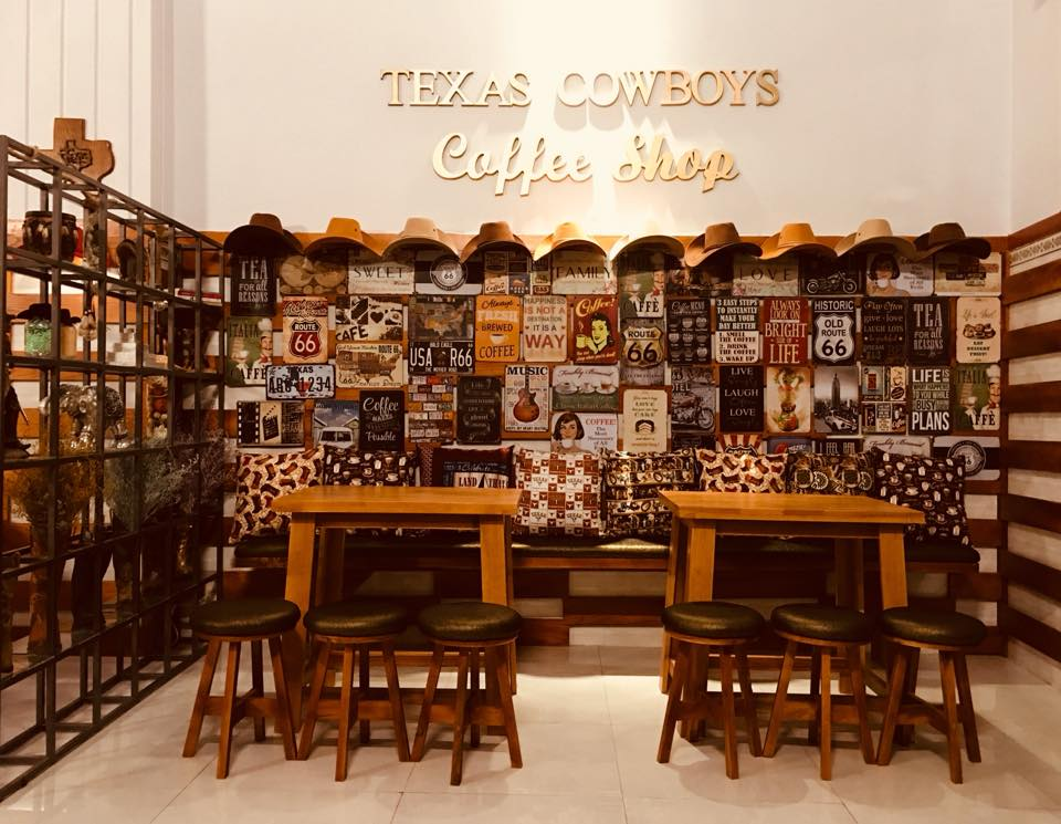Texas Cowboys Coffee Shop – 310 Bùi Thị Xuân