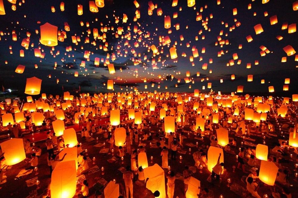 Lễ hội Loy Krathong & Yee Peng Lantern Festivals