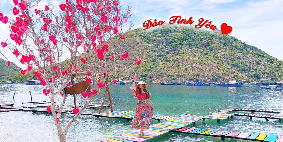 Sống ảo Mê Mệt ở Hòn đảo Tình Yêu đầy Sắc Màu ở Nha Trang