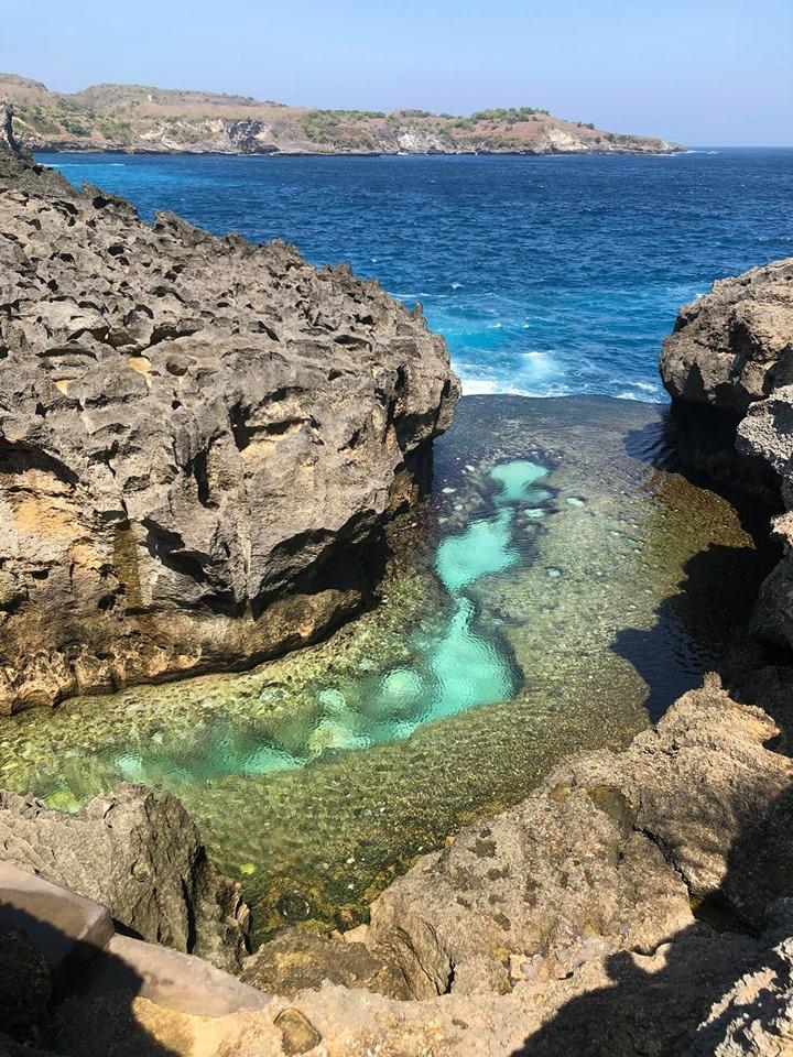 Angle Billabong, nước xanh màu ngọc bích đẹp bằng mắt thường như vậy lun đó mn ui