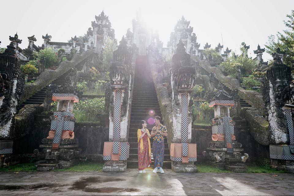 """Ngoài """"Gate of Haven"""" đây cũng là một góc sống ảo miễn chê ở Lempuyang Temple"""