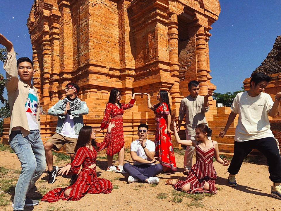 Tháp Chăm Po Sah Inu, cách trung tâm Phan Thiết 7km