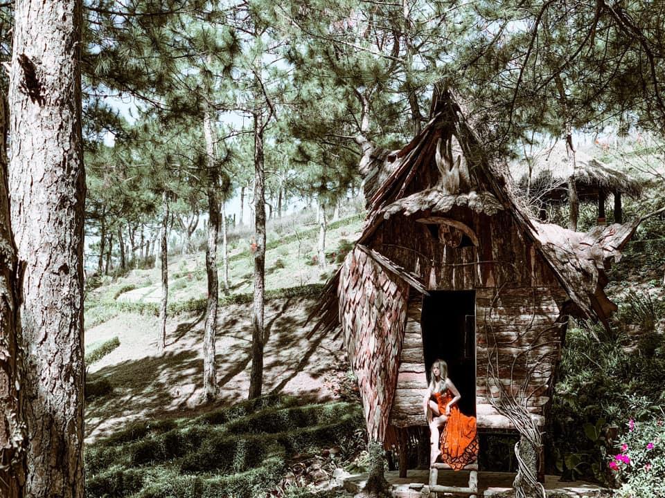 Khu vườn cổ tích nằm trong cafe Rừng Hoa Dalat - Điểm checkin mới ...