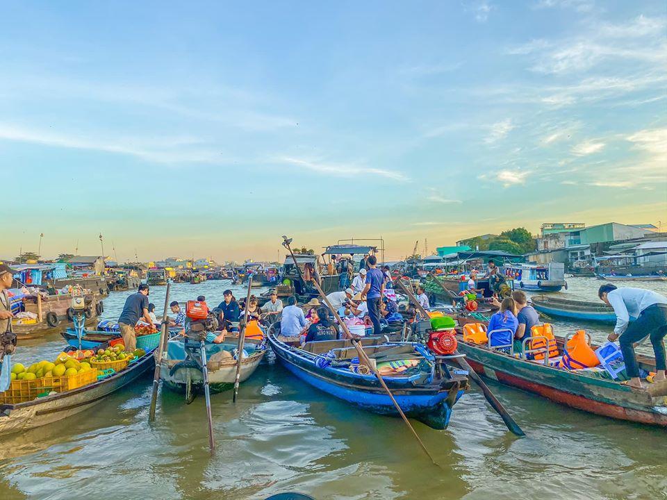 Sông nước Miền Tây - Chợ Nổi Cái Răng Cần Thơ! - Du Lịch Chất