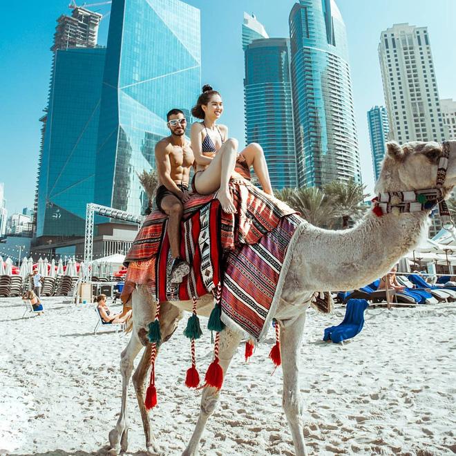 """Ngắm nhìn loạt ảnh check-in """"đốt mắt"""" của Ngọc Trinh tại bãi biển đẳng cấp chỉ dành cho giới siêu giàu ở Dubai, rồi ai làm lại chị! - Du Lịch Chất"""