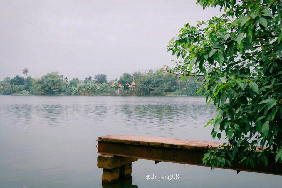 Bến nước sau nhà Hà Lan, gần với cửa sông Hương