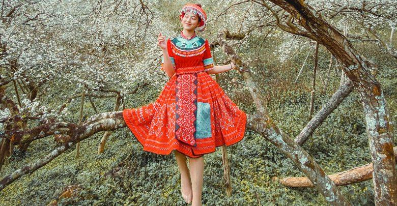 Cùng theo chân cô nàng travel blogger xinh đẹp Maria Tuyền khám phá Mộc Châu cực đẹp