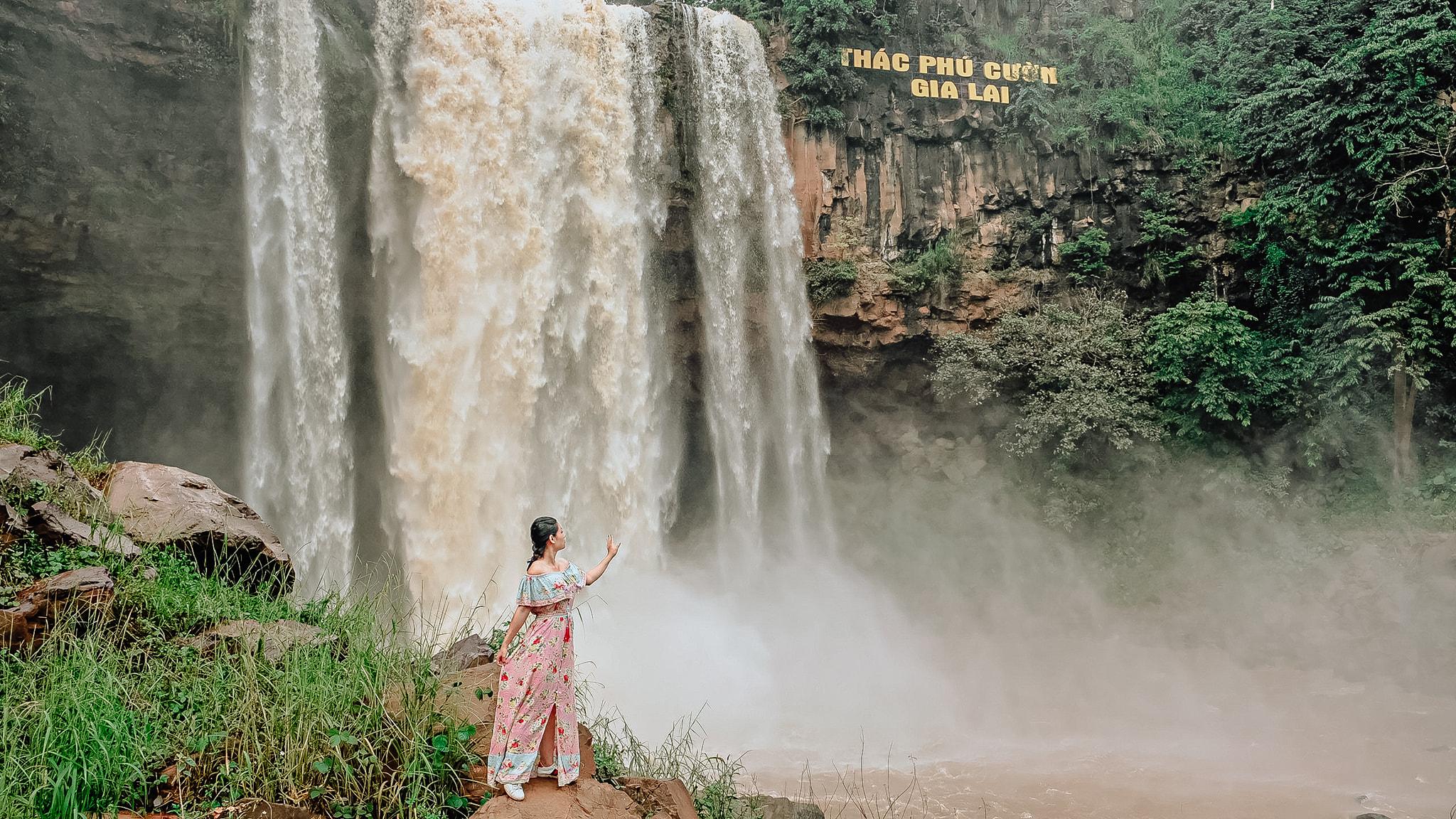 Du lịch Gia Lai – Kon Tum. Thác Phú Cường, Gia Lai