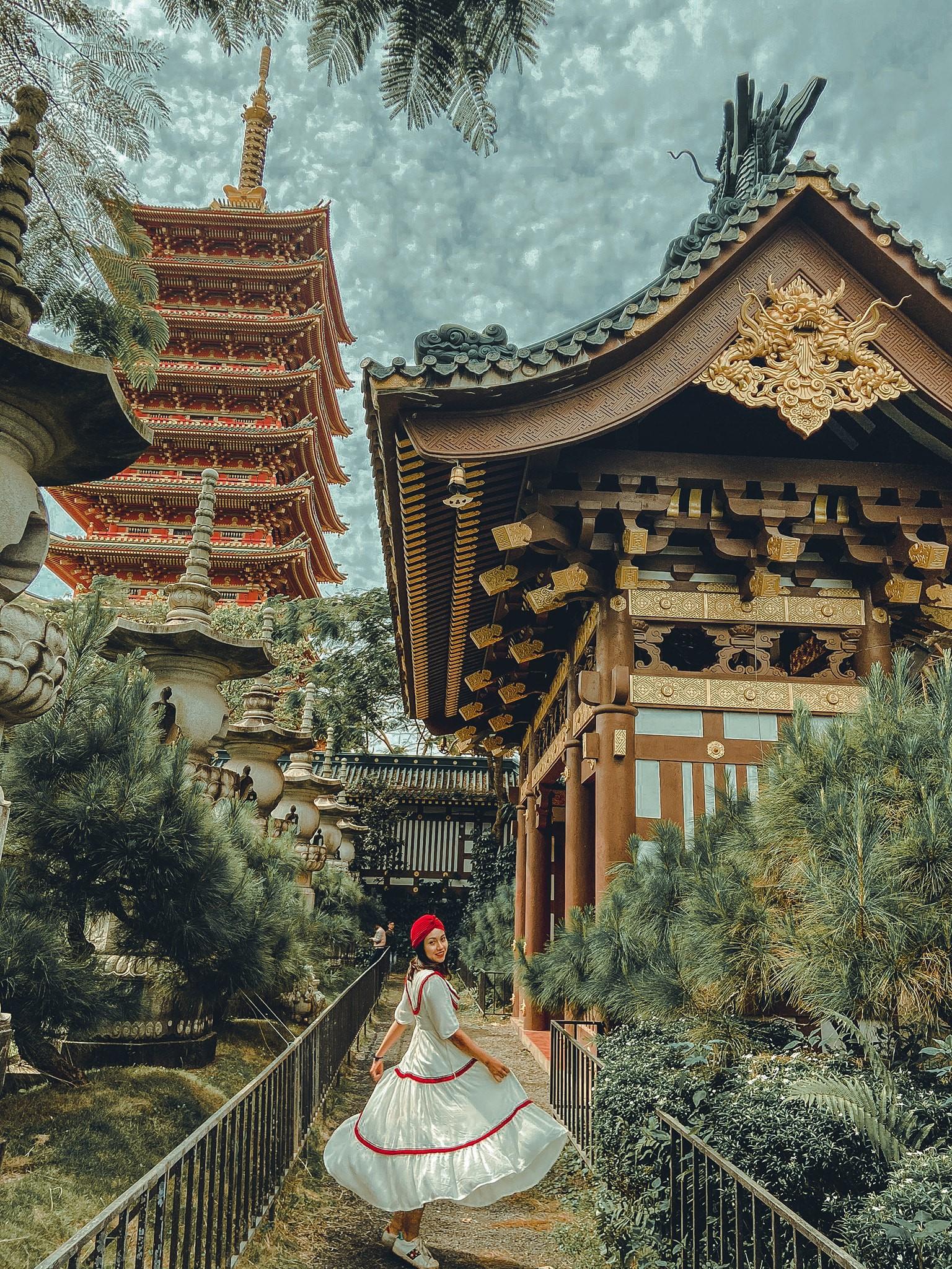 chùa Minh Thành phong cách Nhật Bản