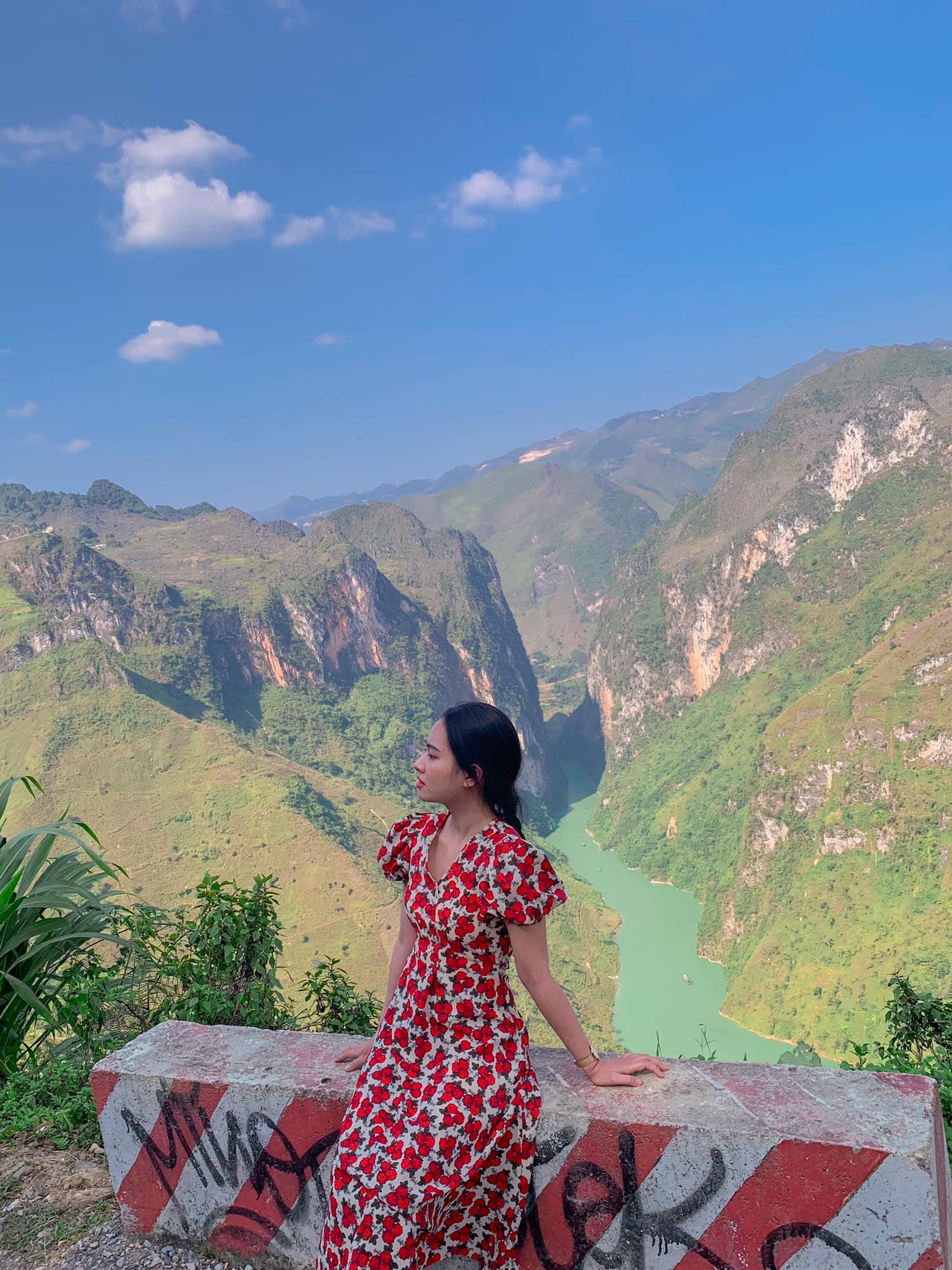 Điểm dừng chân ngắm view sông Nho Quế