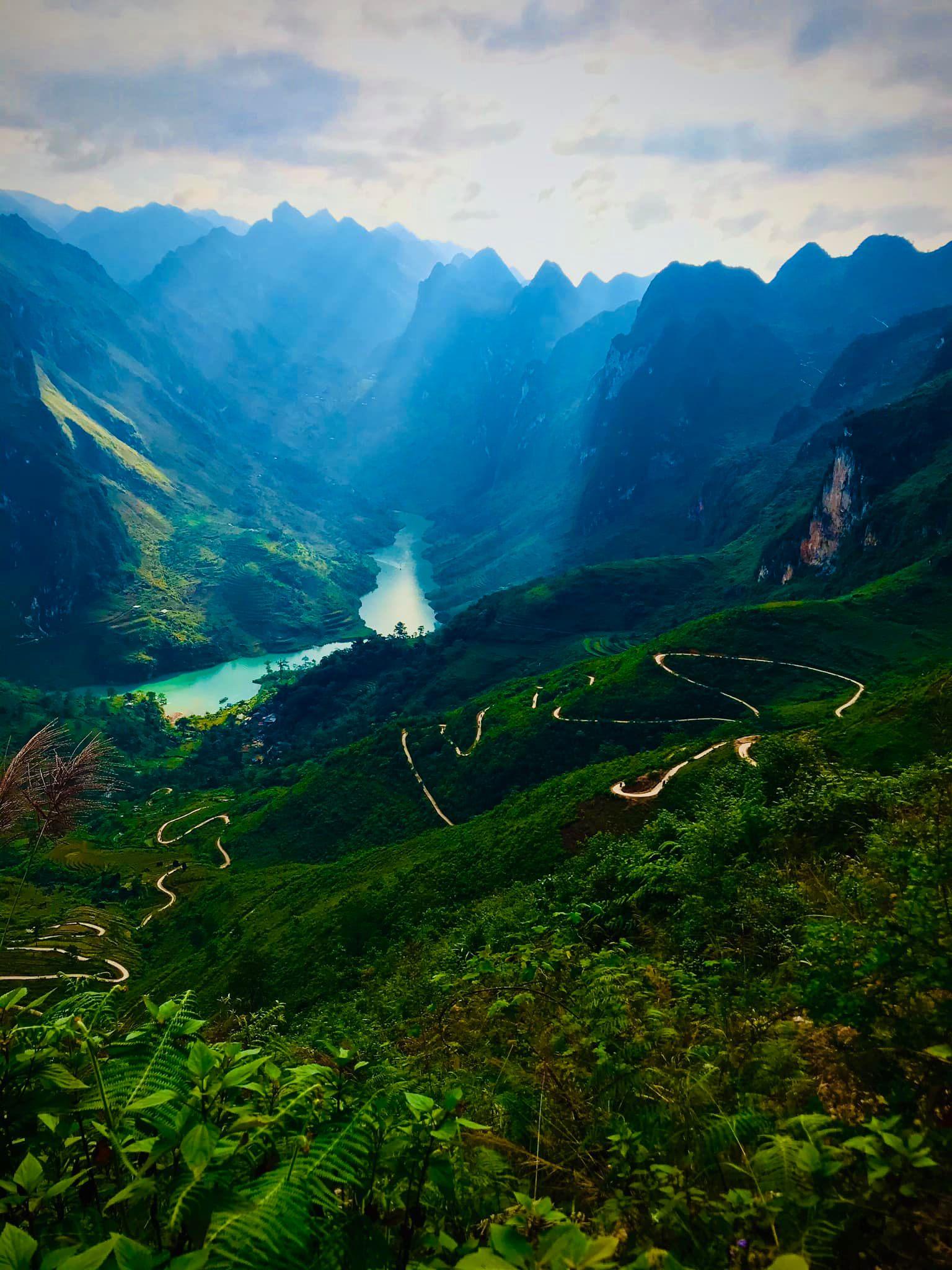 Đường xuống sông Nho Quế