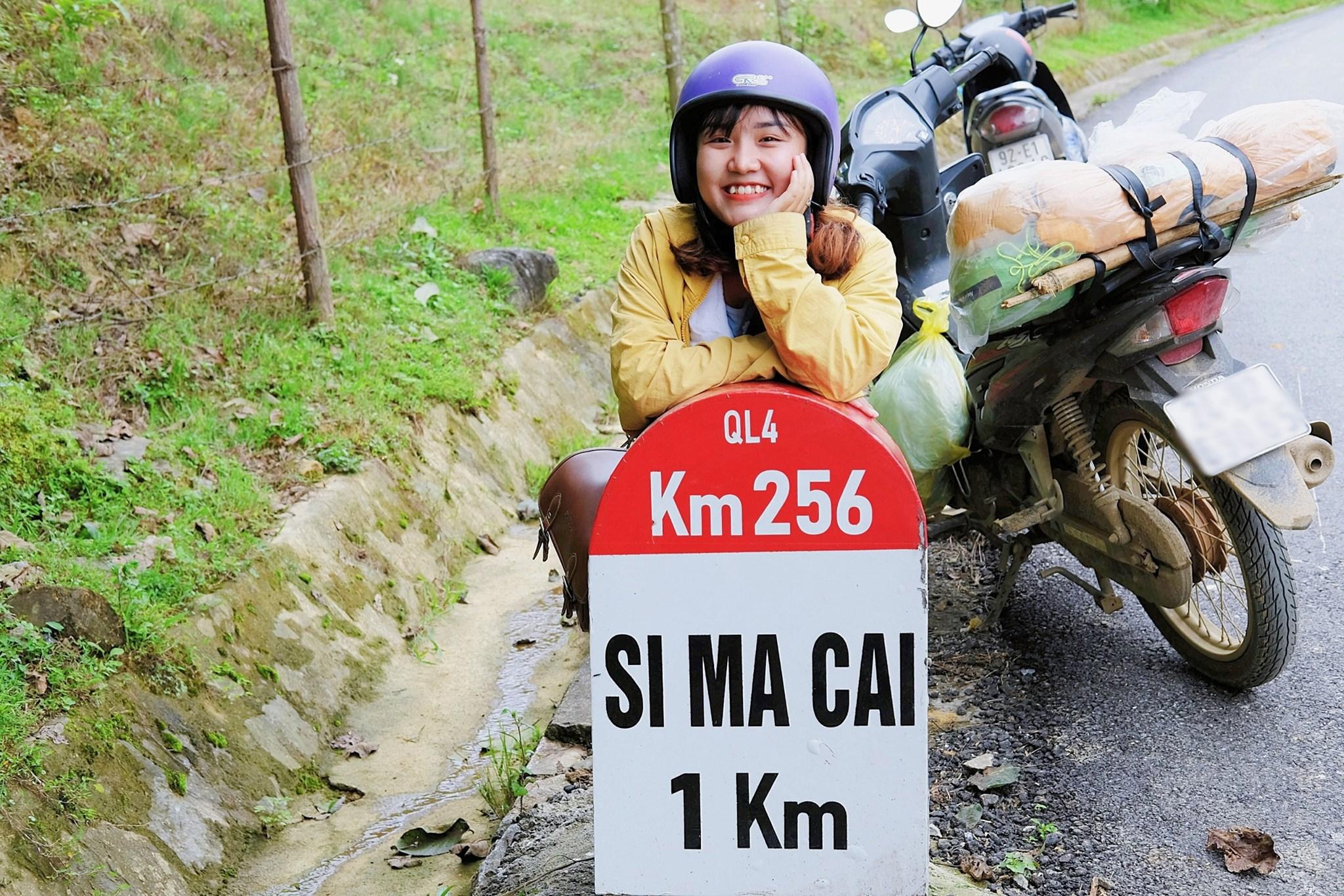 Cột mốc Simacai 1km