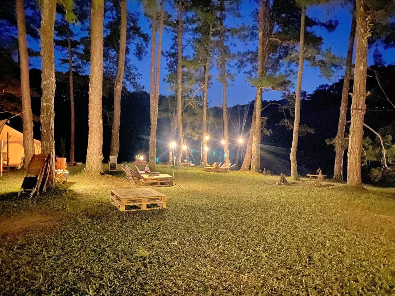 Camp Art – Mợ Jen – Trải nghiệm cắm trại giữa rừng chill Đà Lạt cực thơ