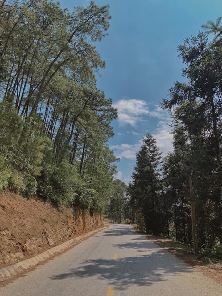 Cái con đường vắng vẻ mà có cần đẹp v khônggggg