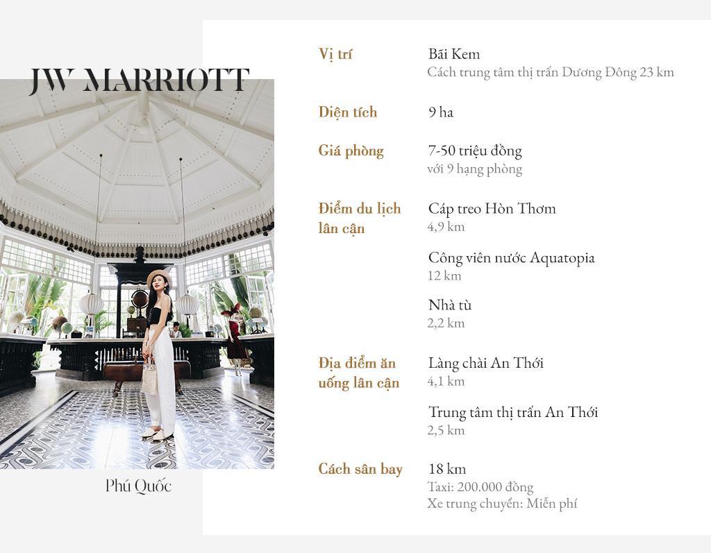 Review Khu nghỉ dưỡng JW Marriott Phú Quốc