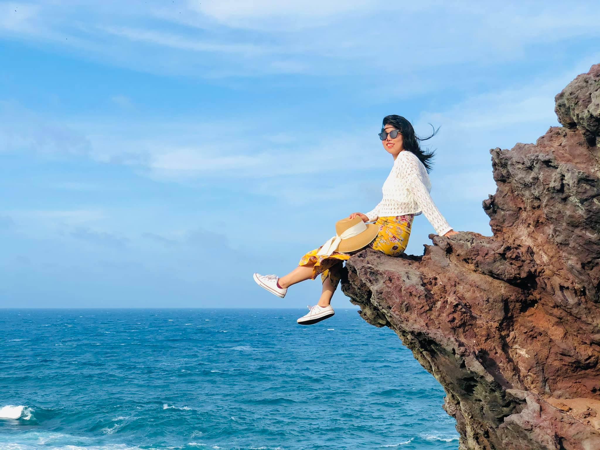 Phú Quý ngày đầy nắng và gió